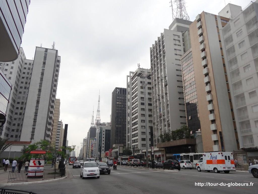 Brésil - São Paulo - Avenue Paulista