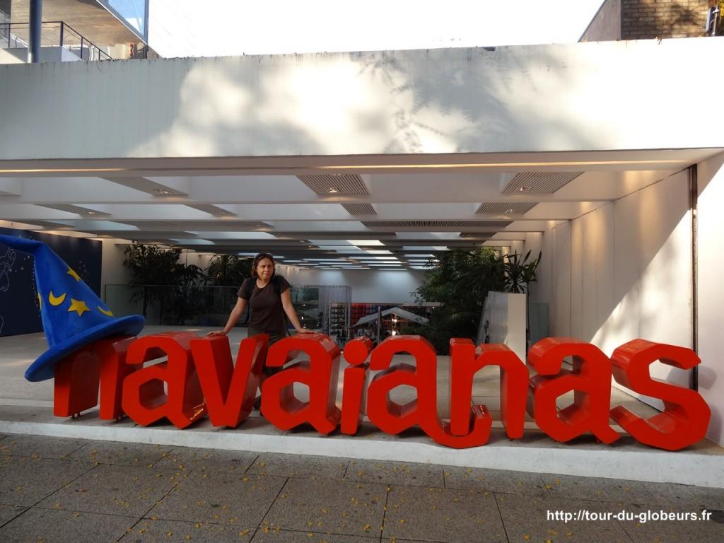 Brésil - São Paulo - Boutique Havaianas