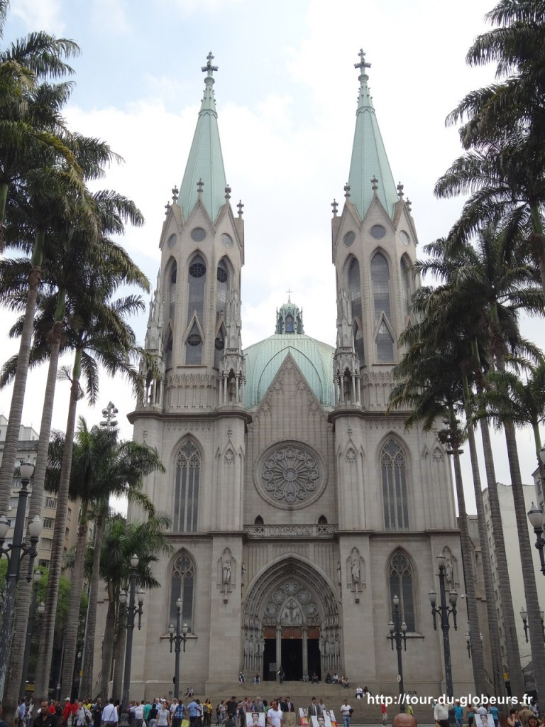 Brésil - São Paulo - Cathédrale