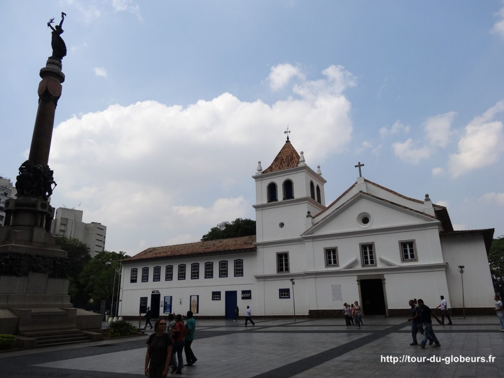 Brésil - São Paulo - Premier couvent Jésuite qui fonda la ville