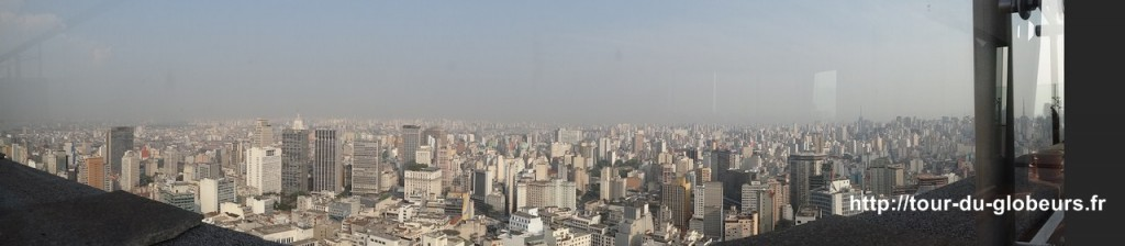 Brésil - São Paulo - Panorama de la ville
