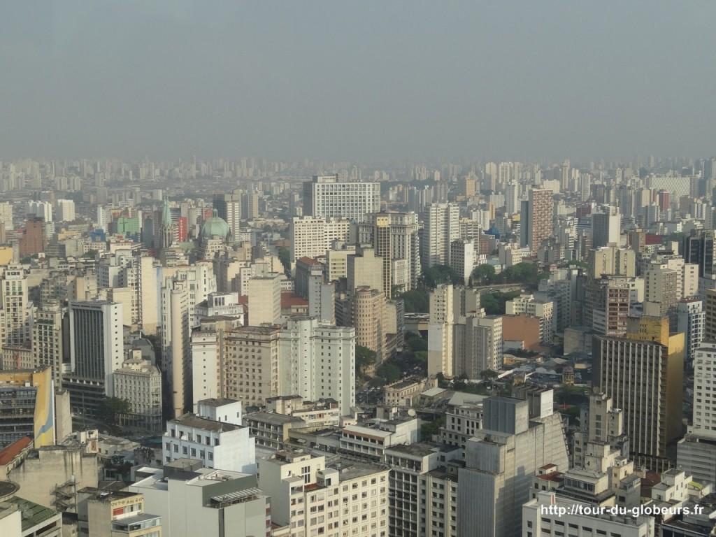 Brésil - São Paulo - Immeubles à perte de vue