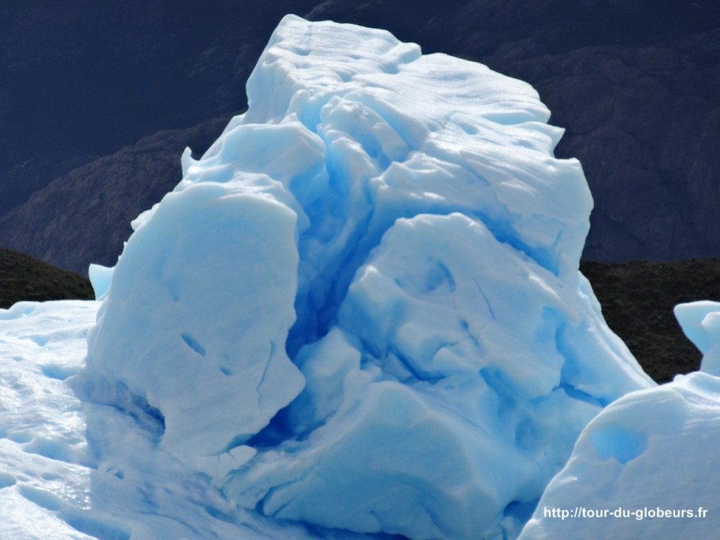 Argentine - El Calafate - Iceberg sur le Lago Argentino
