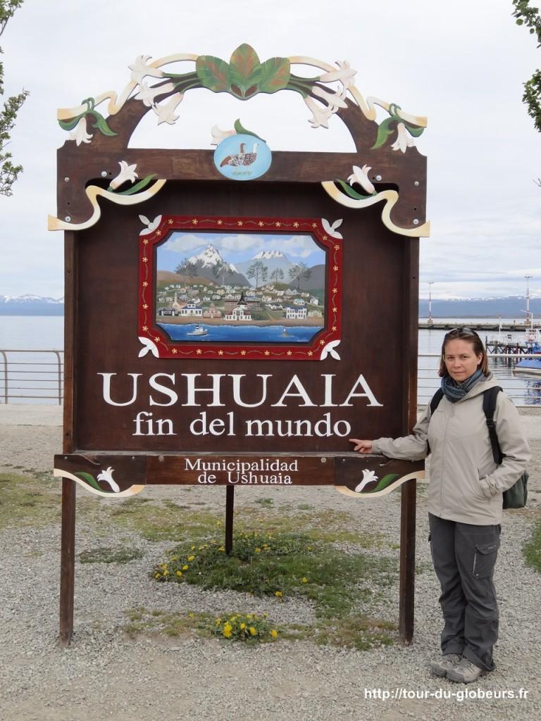 Argentine - Ushuaïa - Panneau fin du monde