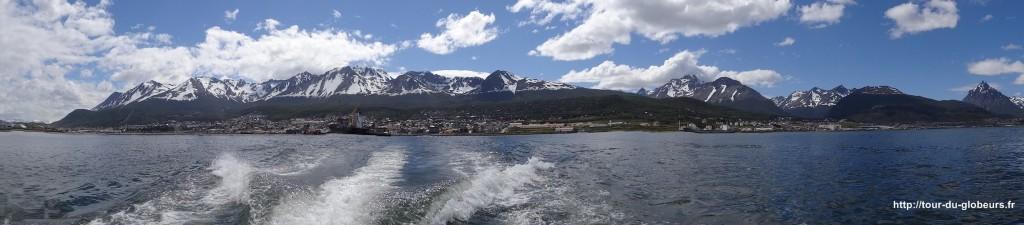 Argentine - Ushuaïa - Vue sur la ville