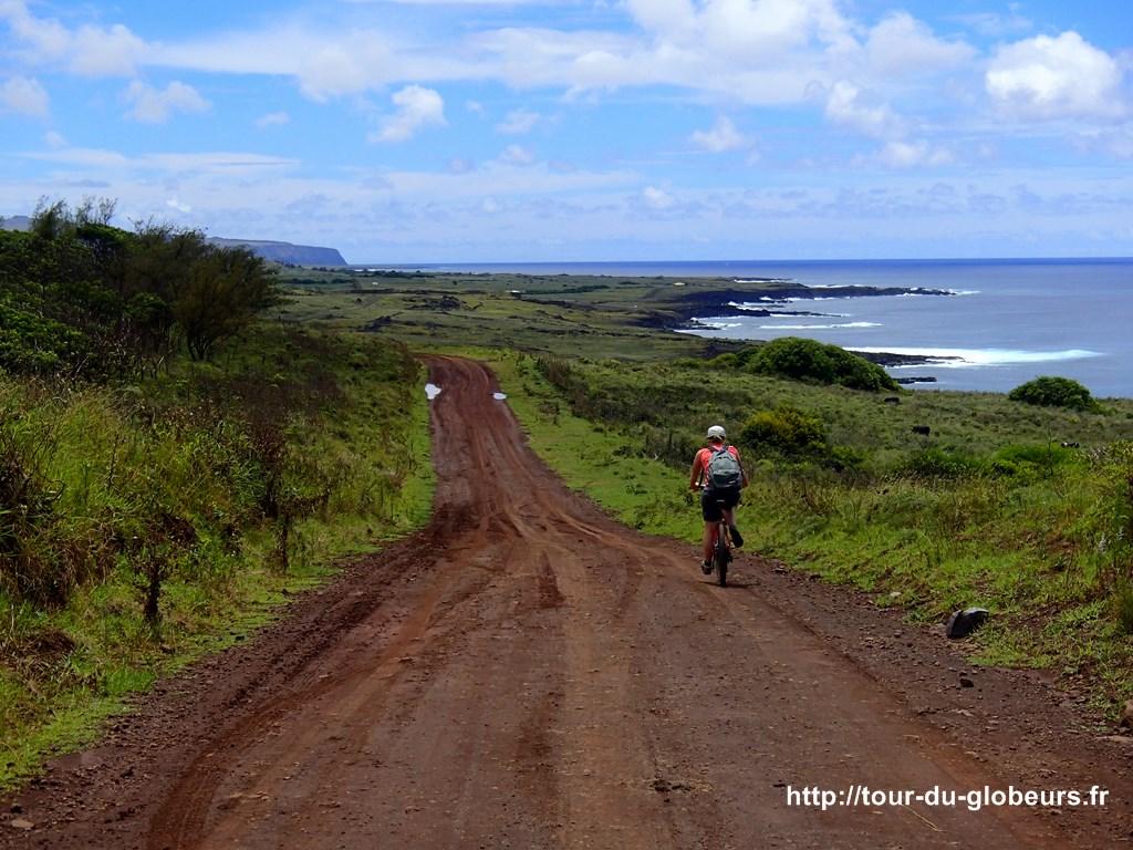 Chili - Ile de Pâques - Côte sud