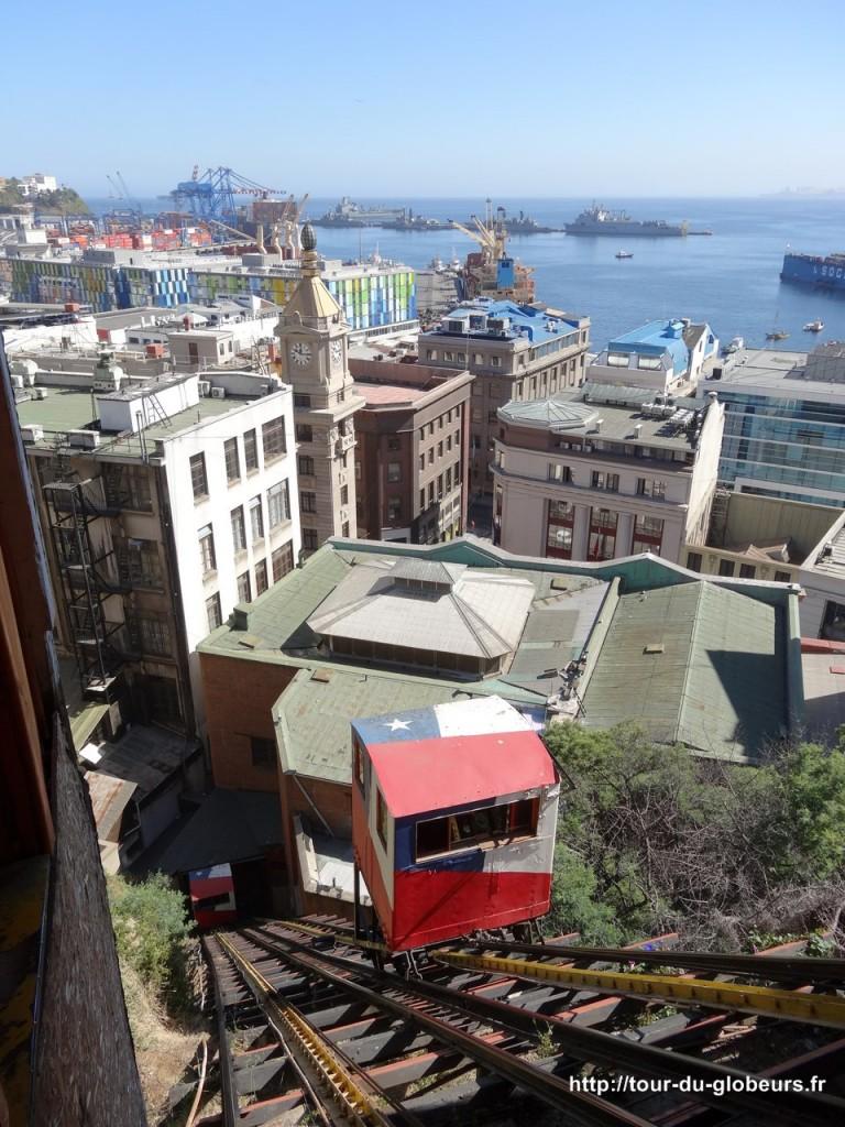 Chili - Valparaiso - Ascenseur