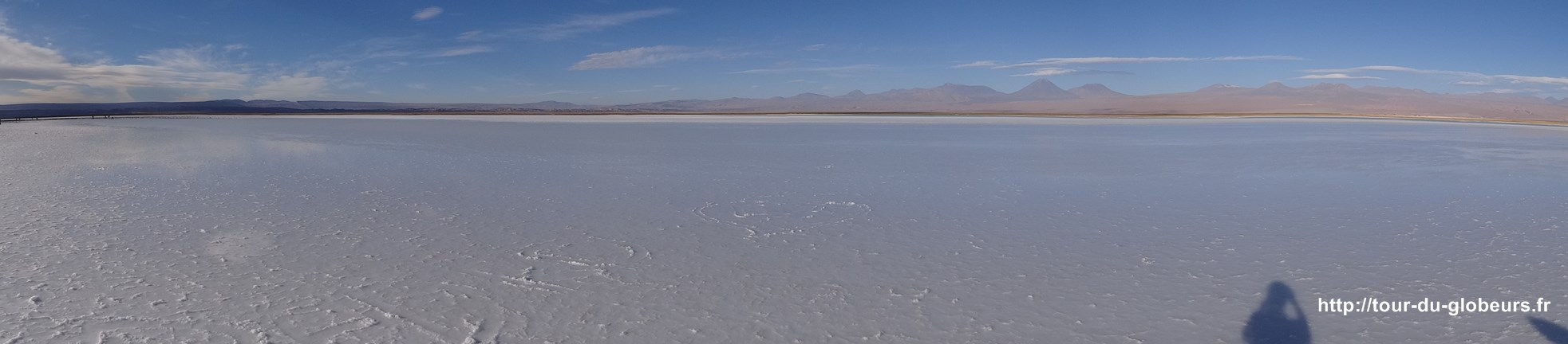 Chili - Atacama - Lac salé panorama