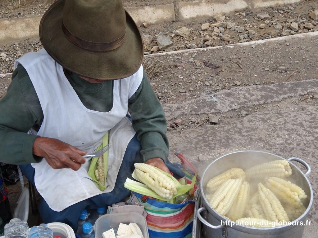 Maïs chaud mais pas de pop-corn