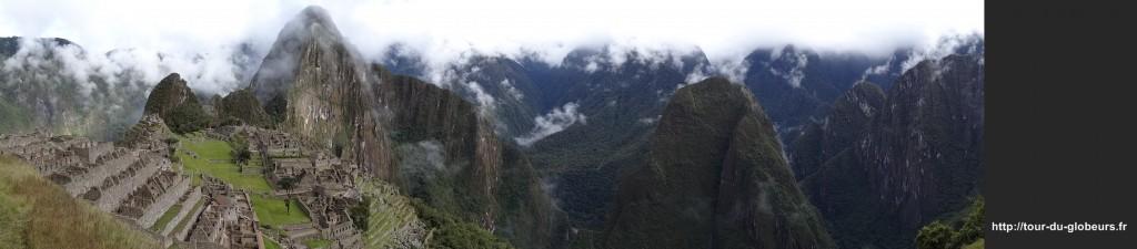 Machu-Pichu - panorama