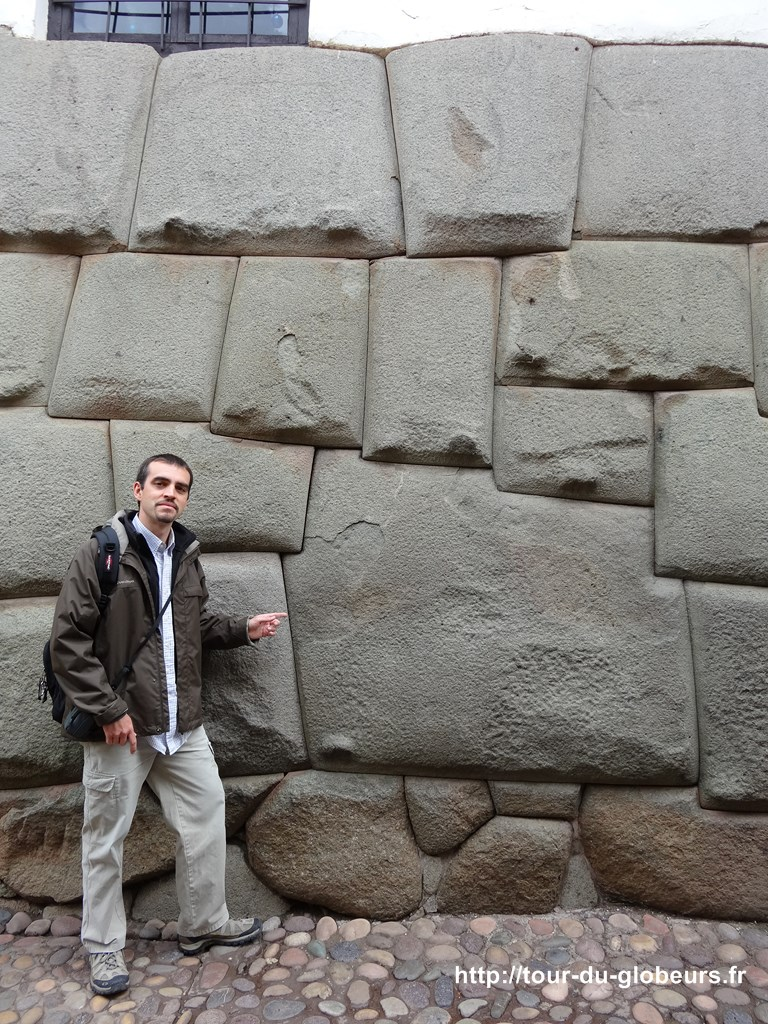Cusco - la fameuse pierre super bien taillée