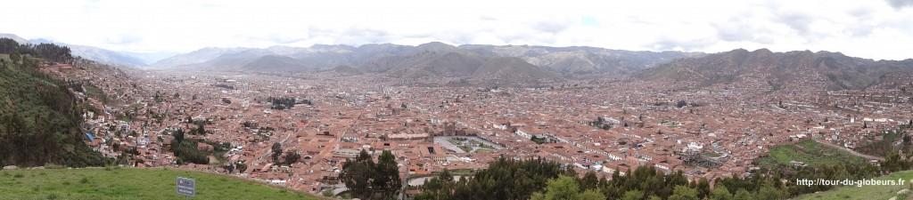 Cusco - vue sur la ville