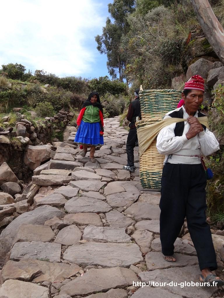 Titi-Caca - les habitants des îles
