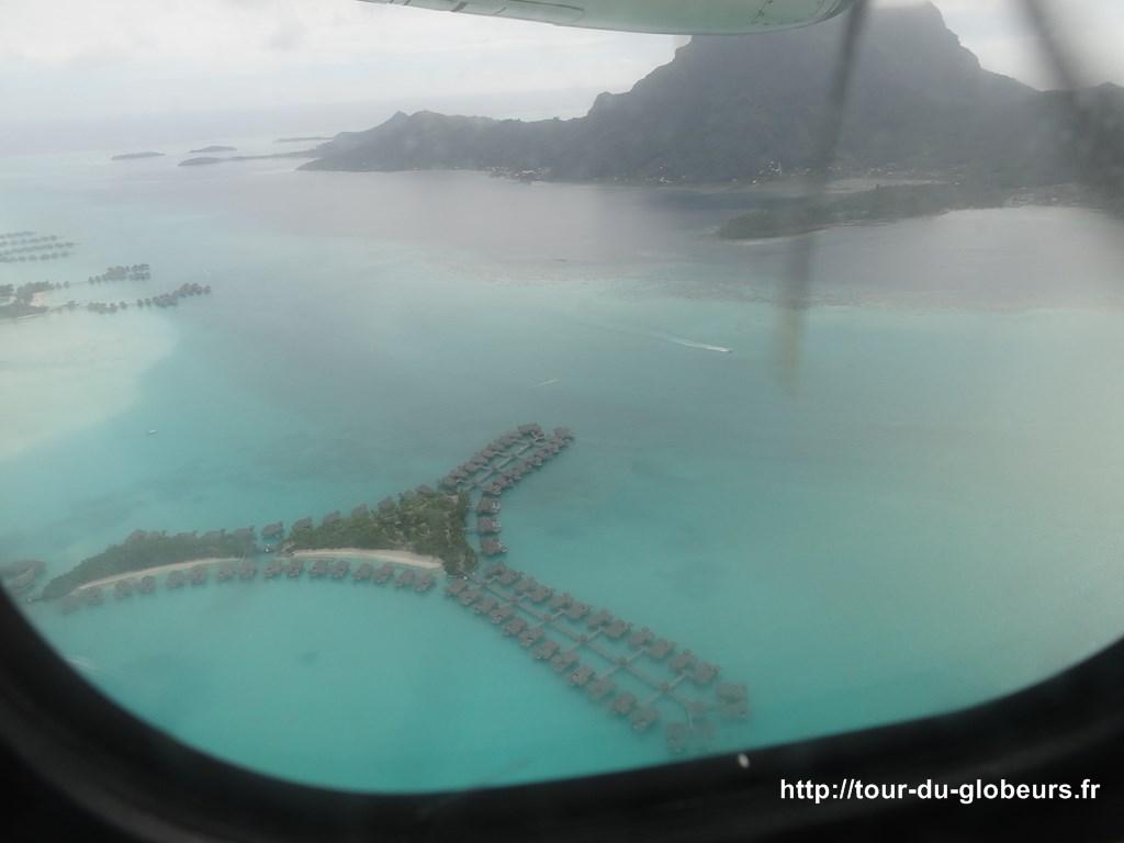 Bora Bora - Vue aérienne