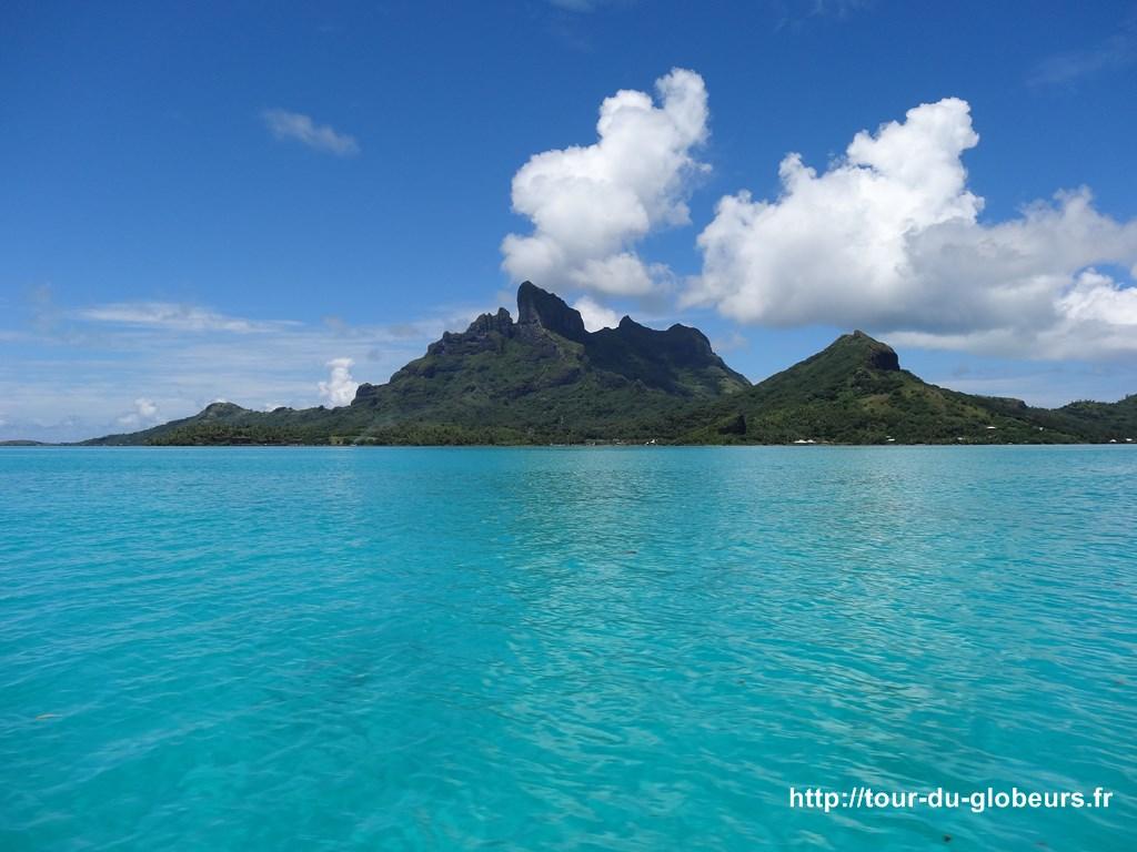 Bora bora et son lagon bleu