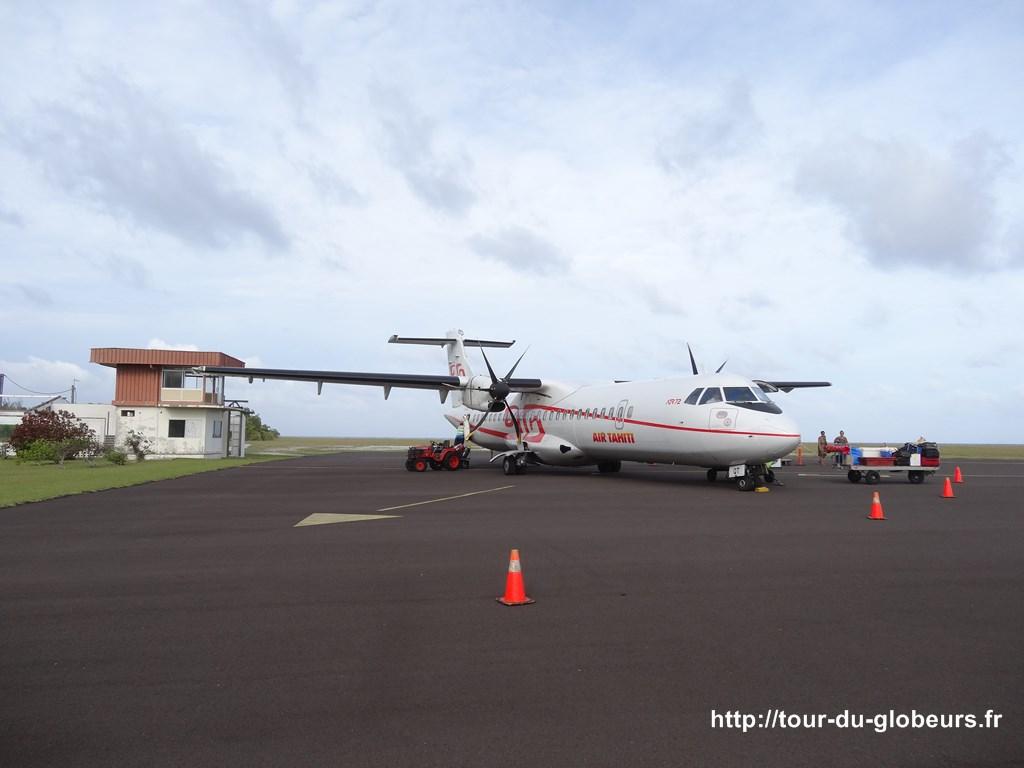 Aéroport ou plutôt aérodrome de Huahine