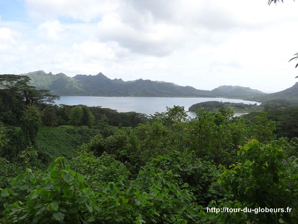 Huahine - belvédère de Faie