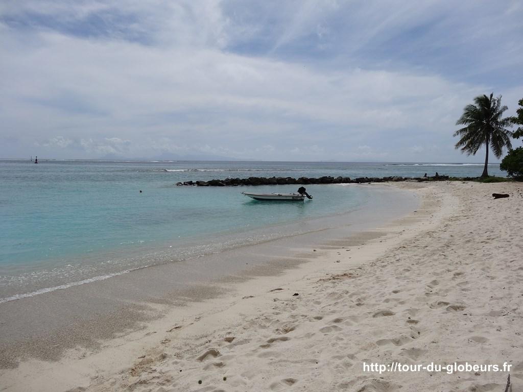 Huahine - plage de Fare