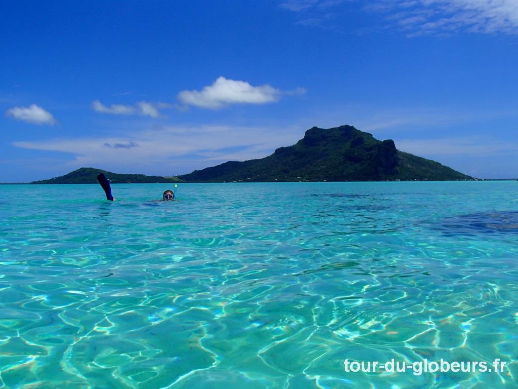 Maupiti - Séance snorkeling de rêve