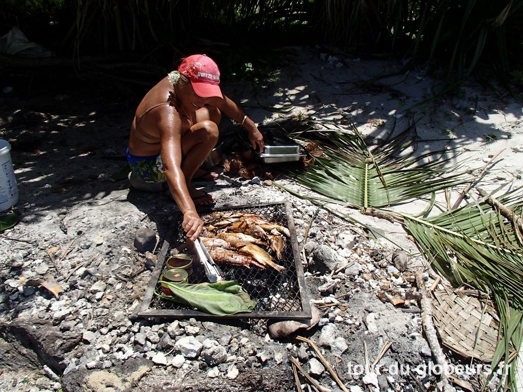 Maupiti - Barbecue