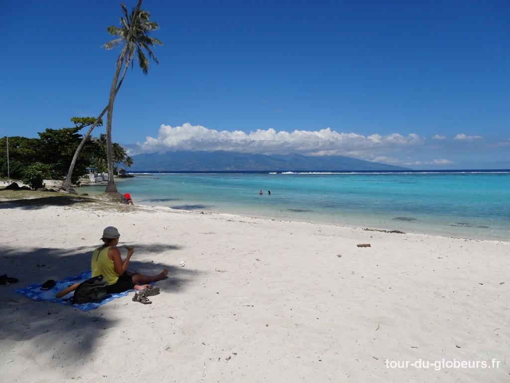 Moorea - plage de Temae