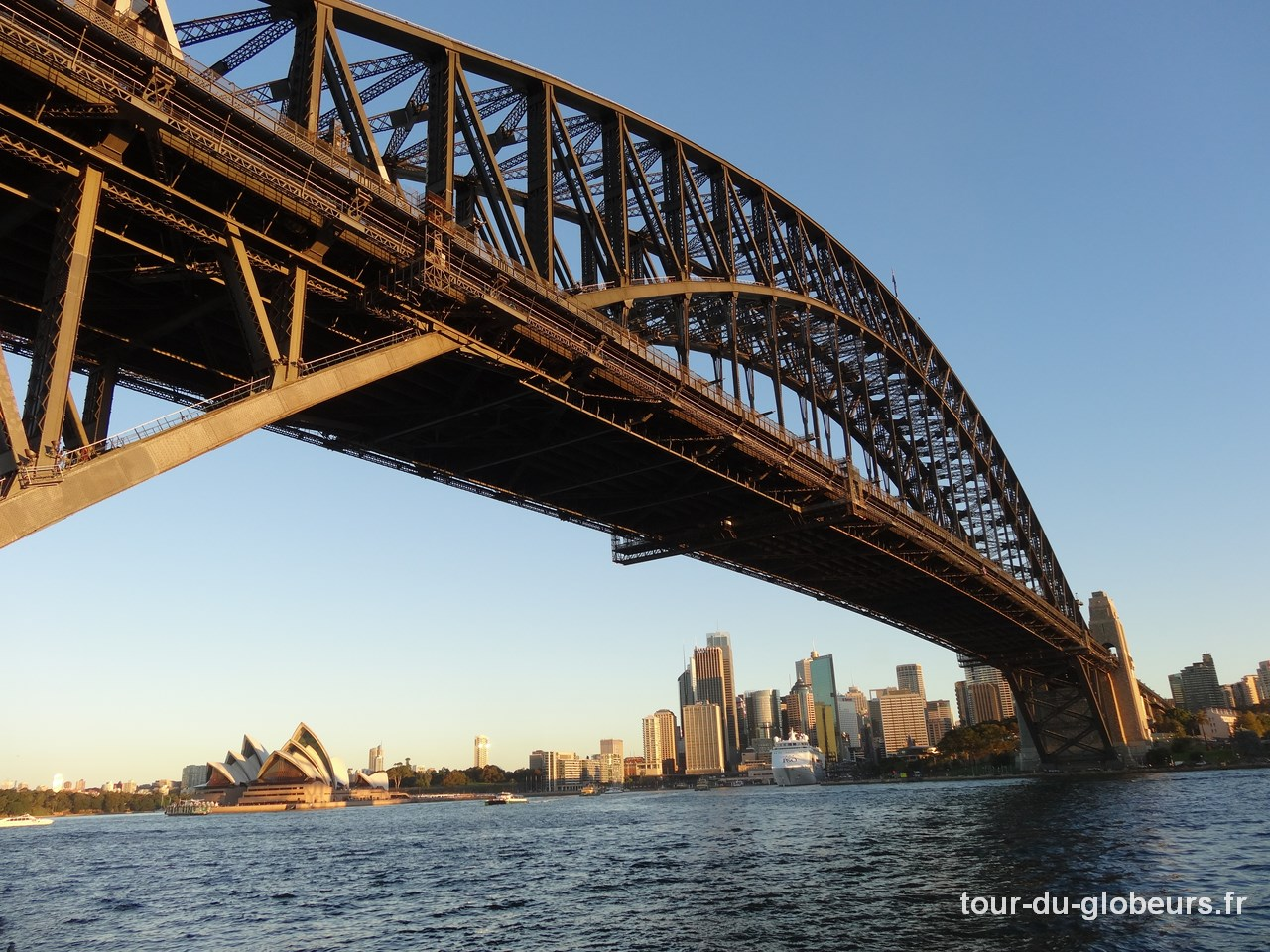 Australie – l'opéra et le harbour bridge à Sydney