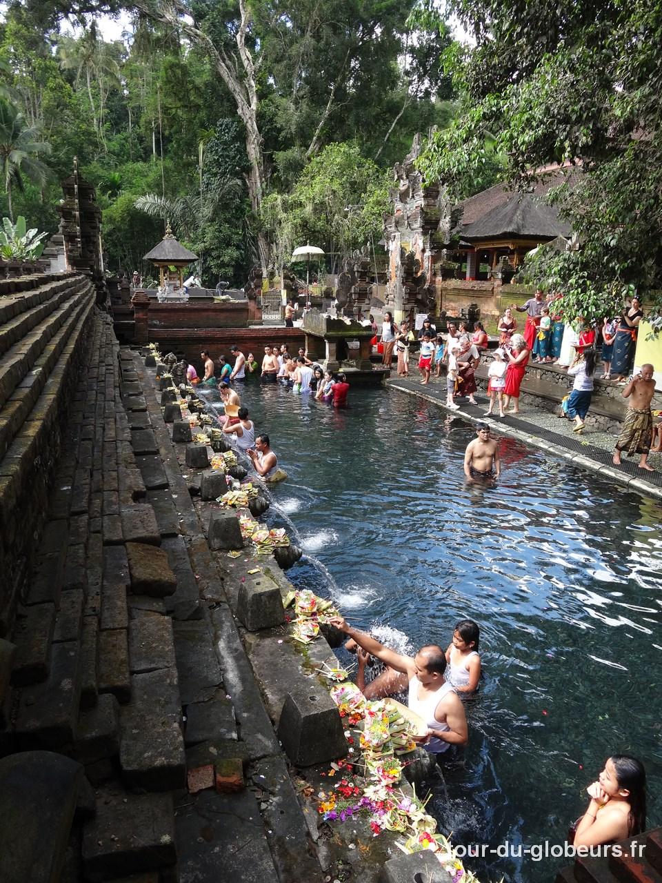 Bali – ablutions au temple de l'eau