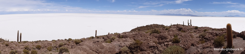 Bolivie – vue sur le salar d'Uyuni