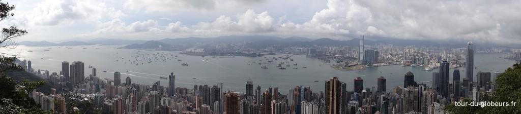 Hong Kong – vue sur la ville depuis le Victoria Peak
