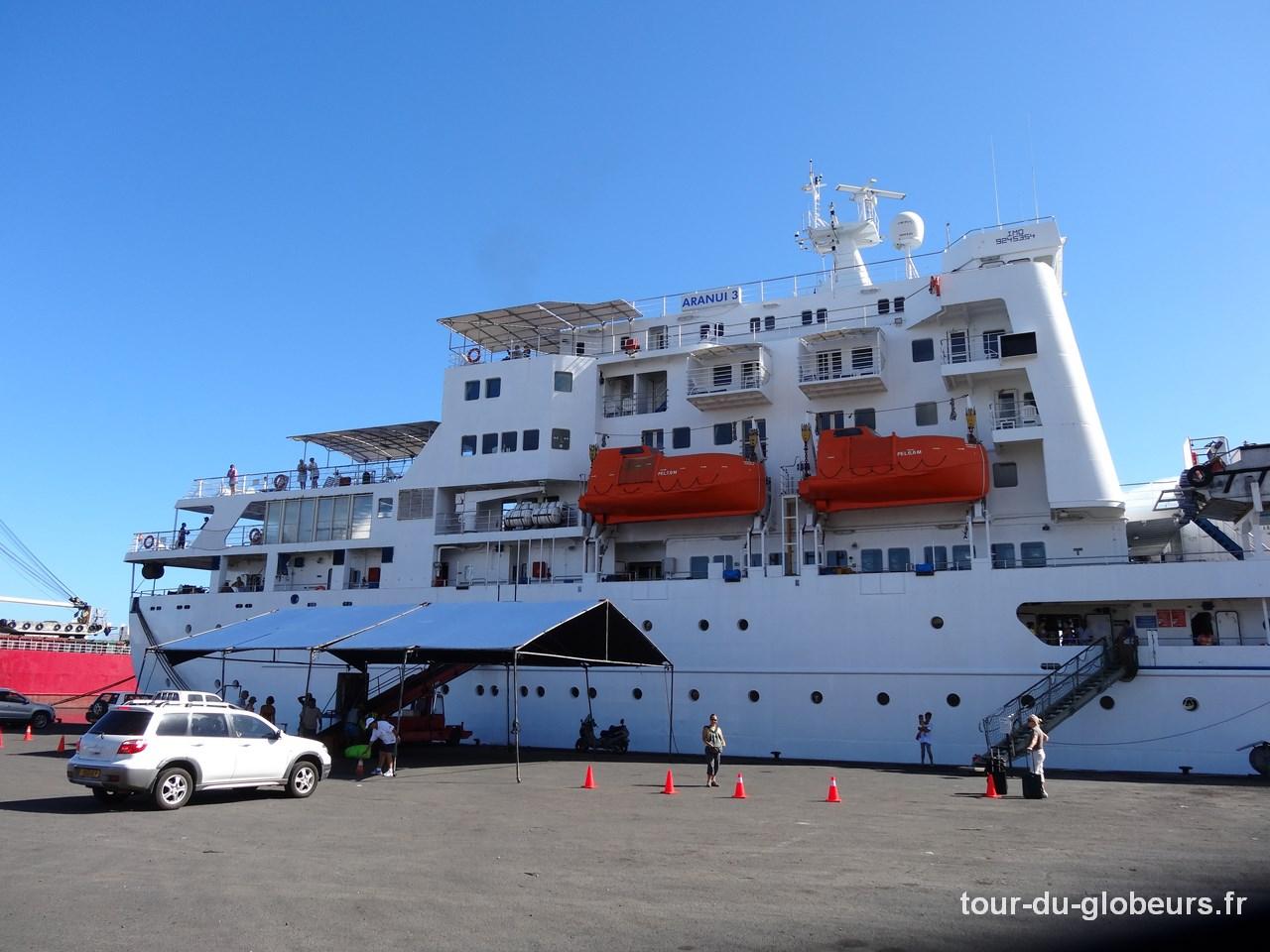 Aranui - Port de Papeete