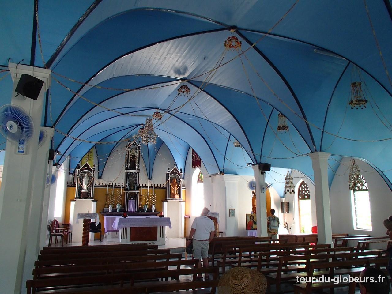 Marquises - Fakarava - Eglise