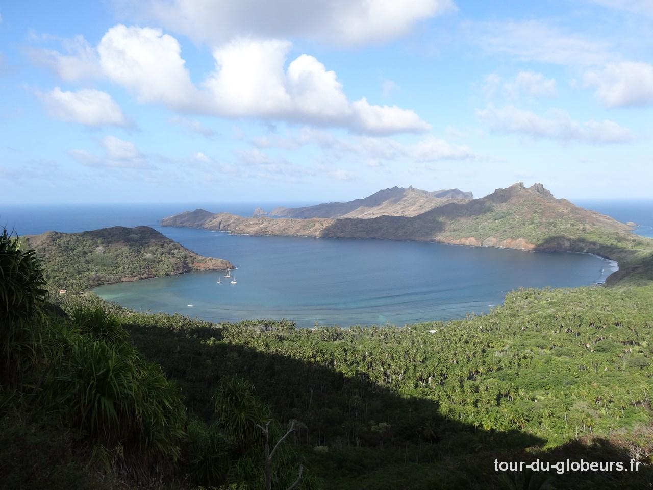 Marquises - Nuku Hiva - baie de Taiohae