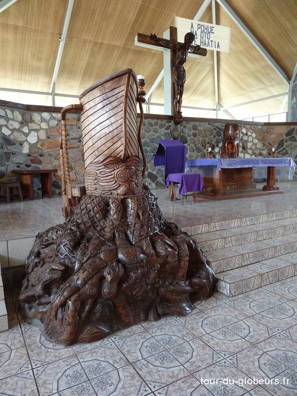 Arabui - Marquises - Ua Pou - Eglise de Hakahau