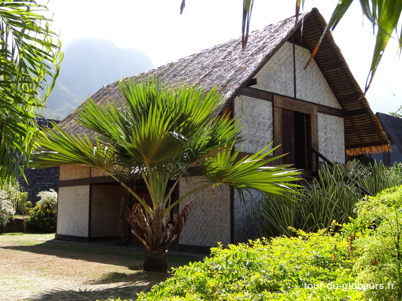 Marquises - Hiva Oa - Musée Gauguin Maison du Jouir