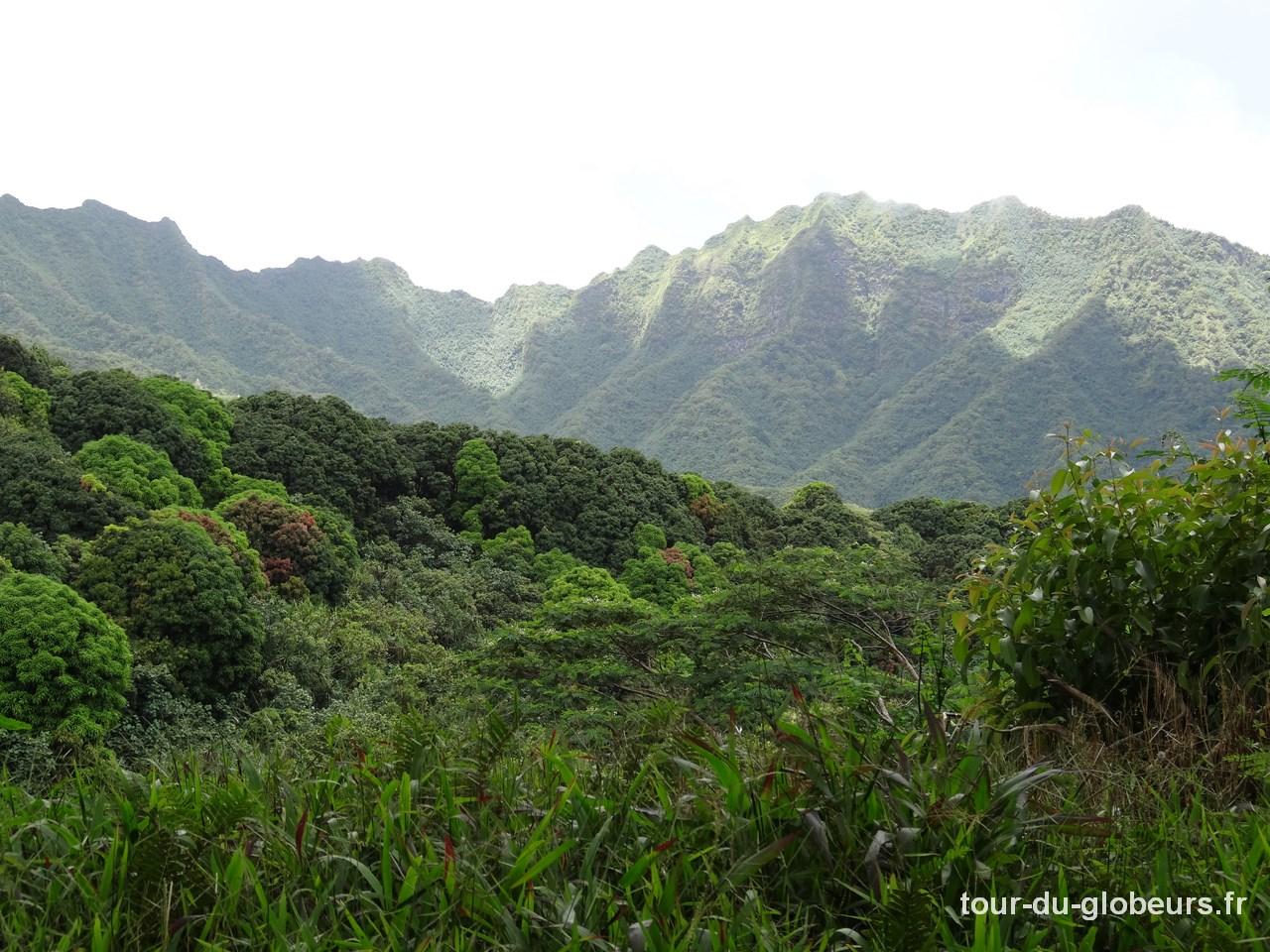 Marquises - Fatu Hiva - Randonnée entre Omoa et Hanavave