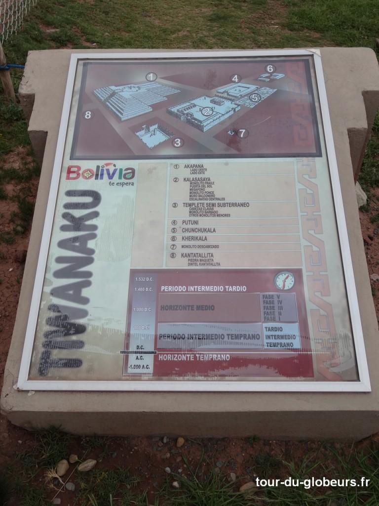 Tiwanaku - plan