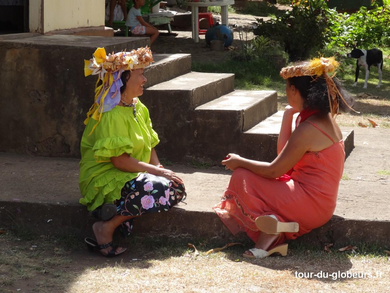 Marquises - Tahuata - Vahinés