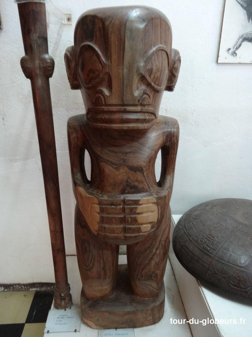 Marquises - Hokatu - Tiki sculpté