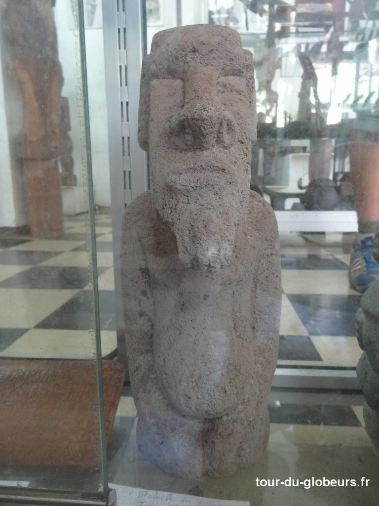 Marquises - Ua Huka - Tiki au Musée de Hokatu