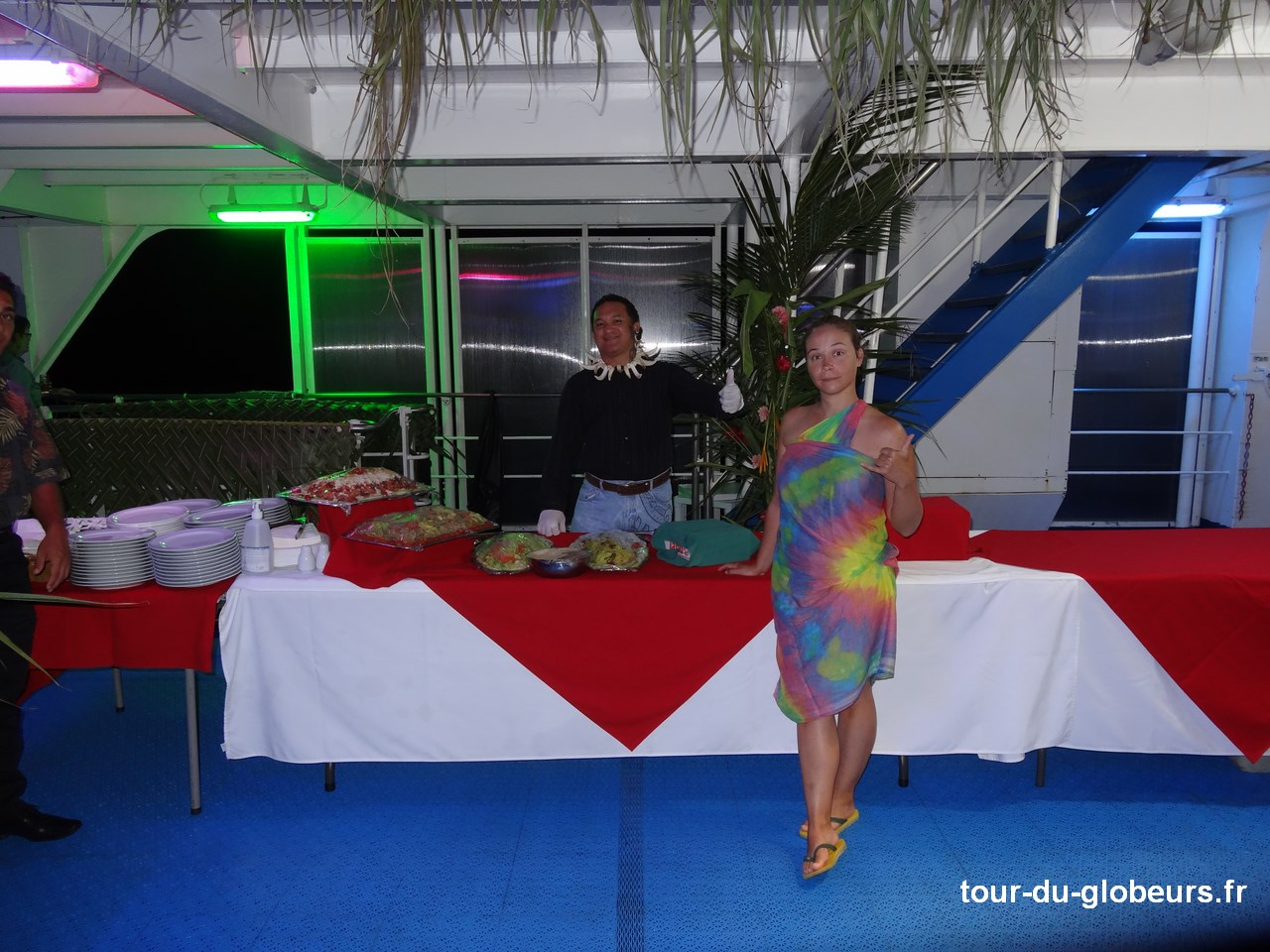 Marquises - Aranui 3 - Soirée polynésienne buffet 1