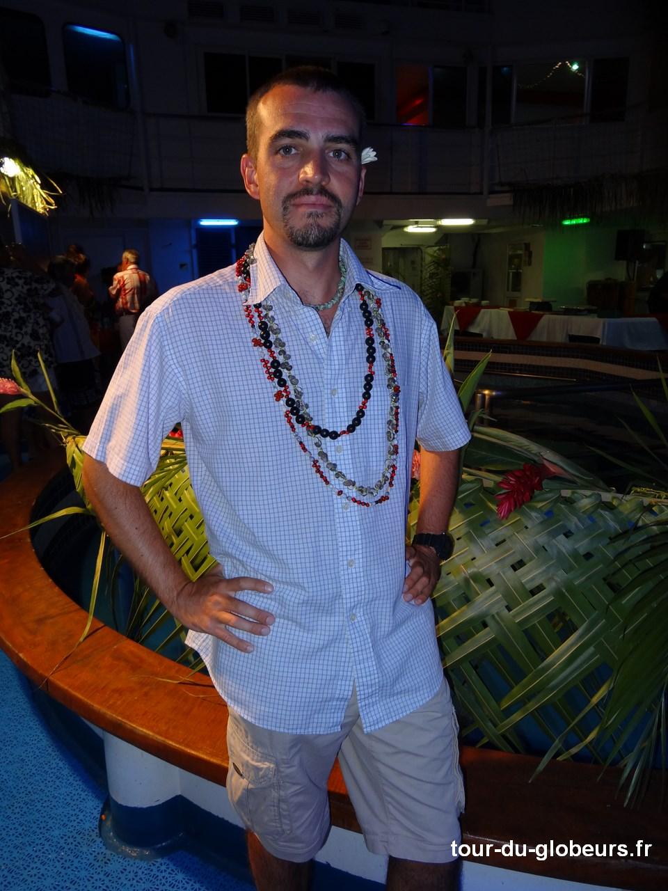 Marquises - Aranui 3 - Soirée polynésienne Nicolas