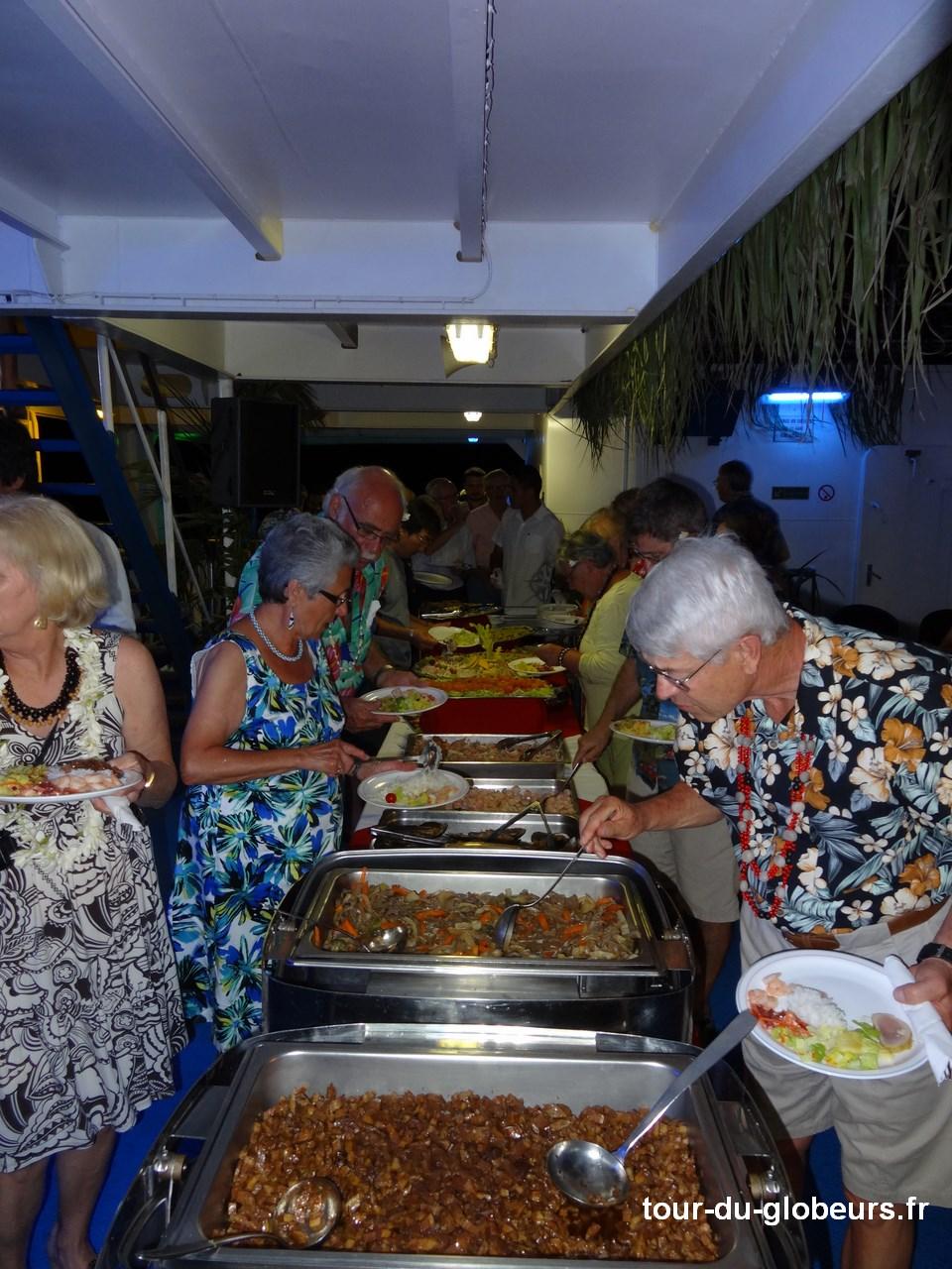Marquises - Aranui 3 - Soirée polynésienne et buffet