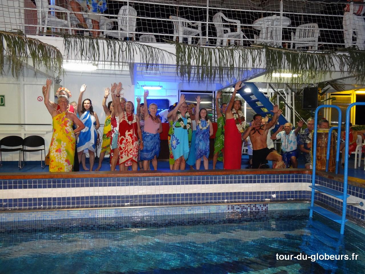Marquises - Aranui 3 - Danses polynésiennes