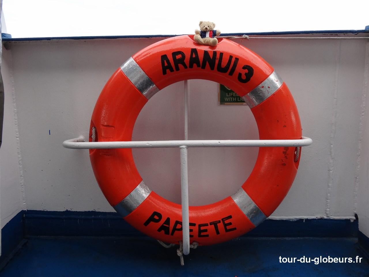 Marquises - Aranui 3 - Bouée