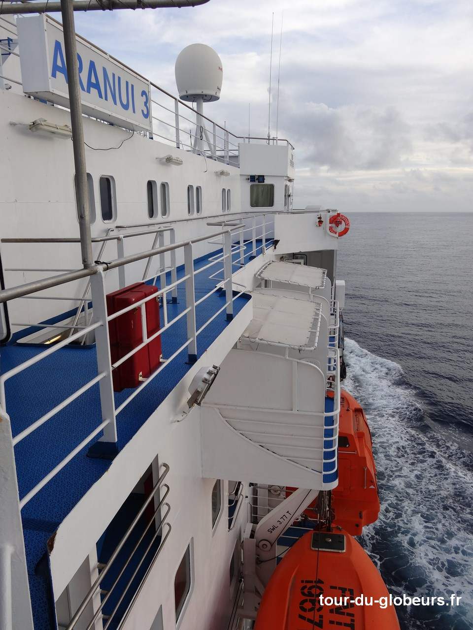Marquises - Aranui 3 - Canots sauvetage