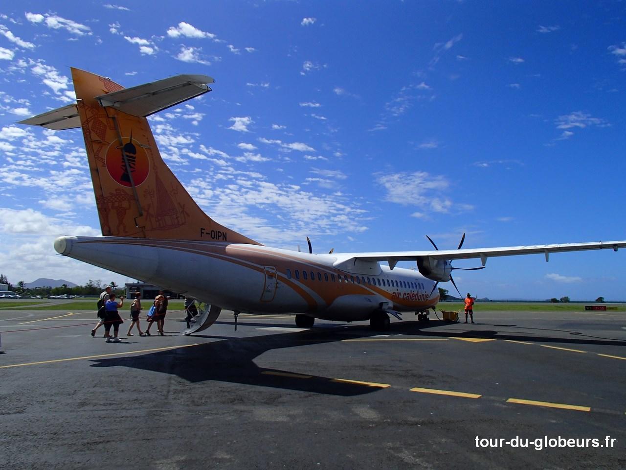 Nle-Calédonie - Air Calédonie inter-ïles