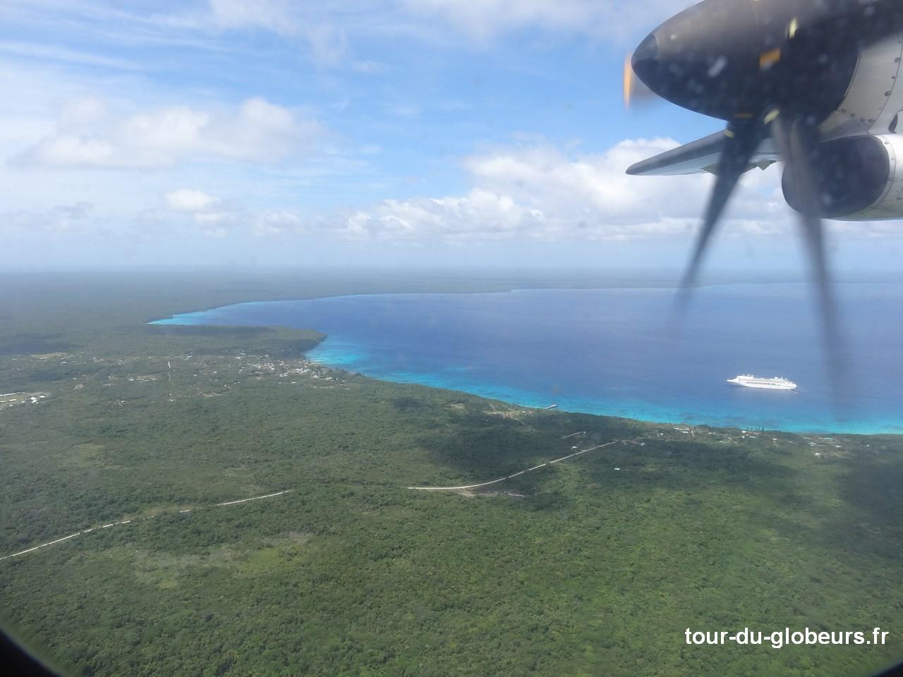 Nle-Calédonie - Lifou - Vue aérienne2