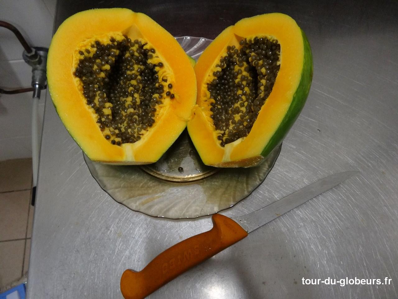 Nle-Calédonie - Lifou - Papaye